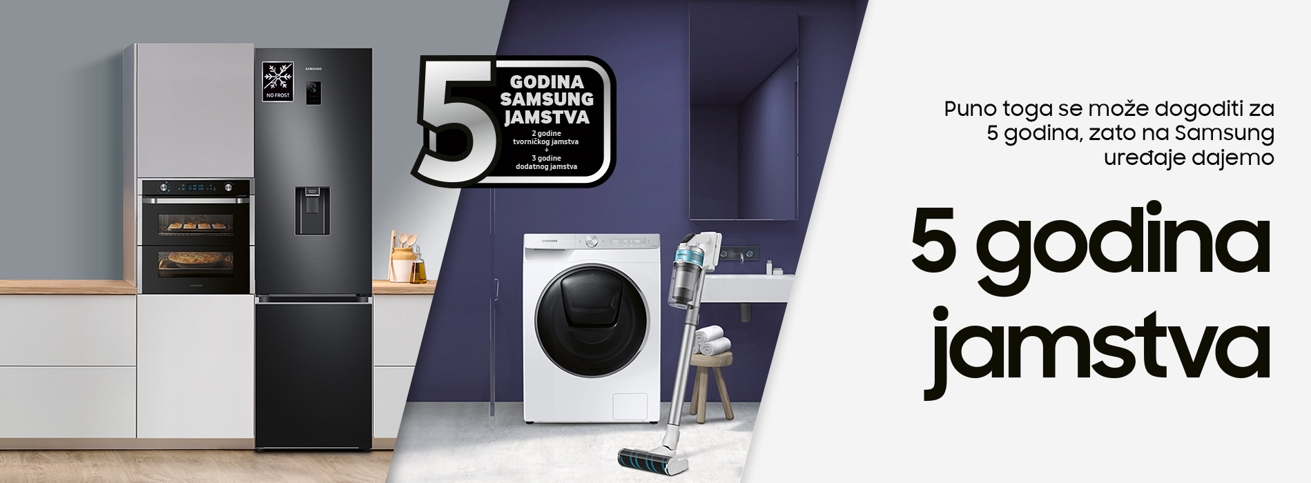 SAMSUNG 2+3 godina garancije uz obaveznu online prijavu