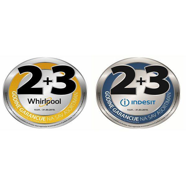 Registrirajte i aktivirajte svoje PROTECTO za ukupno 5 godina jamstva na cjelokupni asortiman WHIRLPOOL i INDESIT uređaja.