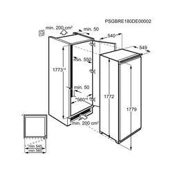 Ugradbeni hladnjak Electrolux LRS4DF18S