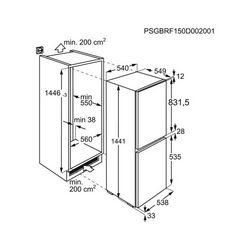 Ugradbeni hladnjak Electrolux LNT3LF14S