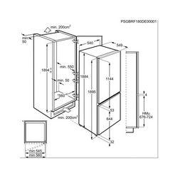 Ugradbeni hladnjak AEG SCE819E5TS