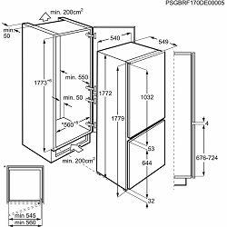 Ugradbeni hladnjak Electrolux LNT3FF18S