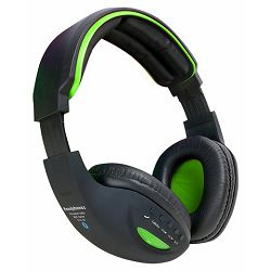 MS BASE zelene bluetooth slušalice s mikrofonom