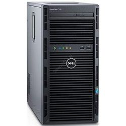 SRV DELL T130 E3-1220v6, 1x2TB HDD, 8GB MEM