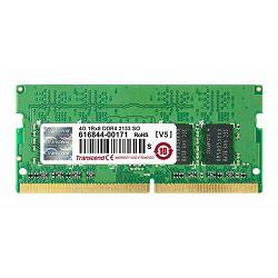 Memorija za prijenosna računala Transcend DDR4 4GB 2133MHz