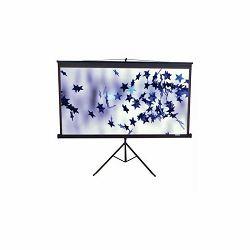 Platno za projektor ELITE SCREENS sa stalkom 203x203cm crno