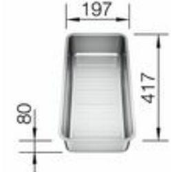 KADICA za BLANCO CLASSIC Pro 45 S-IF, 6 S-IF  (357x182mm)  INOX 18/10