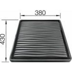 DIO za CIJEĐENJE - VISOKOKVALITETNA CRNA PLASTIKA  (432x382mm)