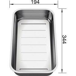 KADICA za BLANCO CLASSIC NEO  (344x194mm)  INOX 18/10
