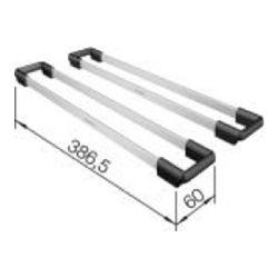 NOSAČI za BLANCO ETAGON - 2 komada  (386,5X60mm)  INOX 18/10