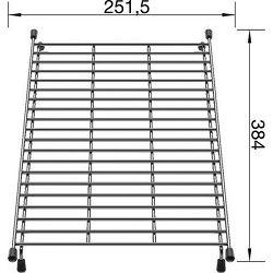 MREŽA za BLANCO sudopere  (384x251,5mm)
