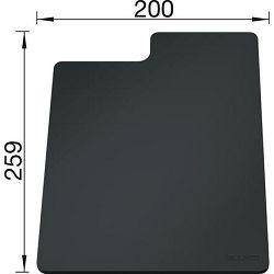 DASKA za BLANCO SITYPad SIVA - plastična daska za rezanje  (259x200mm)