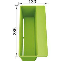 KADICA BLANCO SITYBox  (285x130mm)  PVC ZELENA