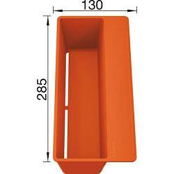 KADICA BLANCO SITYBox  (285x130mm)  PVC NARANČASTA