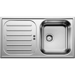 BLANCO sudoper FLEX PRO 45 S INOX 18/10 PRIRODNA DORADA, KOŠARASTI VENTIL 3½