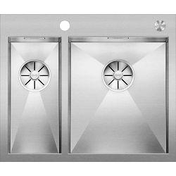 BLANCO sudoper ZEROX 340/180-IF/A InFino  INOX 18/10, sa dalj. uprav. PushControl