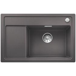 BLANCO sudoper ZENAR XL 6 S Compact InFino  SILGRANIT PuraDur SIVI KAMEN, bez pribora, BAZEN DESNO, s dalj. upr.