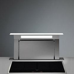 Falmec kuhinjska napa DOWNDRAFT 90 Pultna (model bez motora, uporaba eksternog motora) STAKLO BIJELO