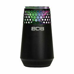 Prijenosni zvučnik 808 AUDIO Hex Light SP 300BK E crni (Bluetooth, baterija 8h)