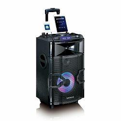 Party zvučnik LENCO PMX-250 (200W, Bluetooth, USB, FM, DJ Mixer, ugrađena baterija)
