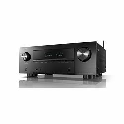 AV receiver DENON AVR-X2700H crni (Bluetooth, Wi-Fi, Airplay 2, FM radio)