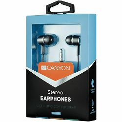 Slušalice s mikrofonom CANYON CNE-CEPM01B crne