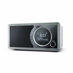 Radio SHARP DR-450 sivi (DAB+, FM, BT, RDS)