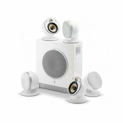Set zvučnika za kućno kino FOCAL DOME Flax 5.1 White