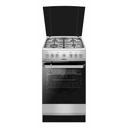 Samostojeći štednjak Hansa FCMX581009, 4 plina, 8 funkcija, električna pećnica, inox