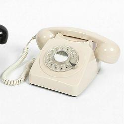 Telefon GPO RETRO 746 ROTARY ivory