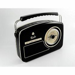 Prijenosni radio GPO RETRO RYDELL NOSTALGIC DAB crni