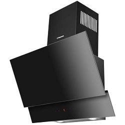 Napa Hansa OKC6641SH, kaminska, dekorativna, crna, LED DISPLAY, daljinski upravljač