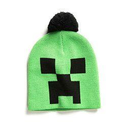 Kapa Minecraft Creeper Face zimska