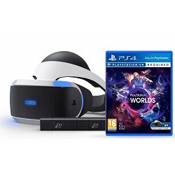 PlayStation VR + VR Worlds VCH + Camera v2/PSVR Mk3
