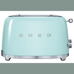 Smeg toster, pastelno zelena