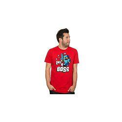 T-shirt Minecraft Like a Boss Red L