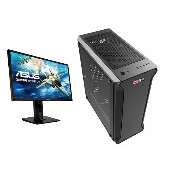 MSGW Home Gamer+ a361 + Monitor Asus 24