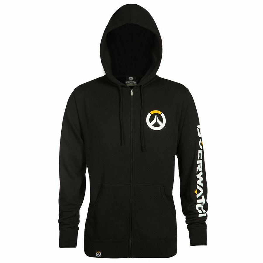 Hoodie Overwatch Logo Men's Zp Up XL