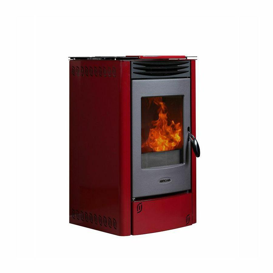 Plamen peć na pelet PERLA Mod.514S - krem